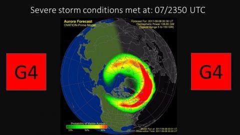 予想よりもはやくコロナガス到達も、これから磁気嵐が強まるとの観測も